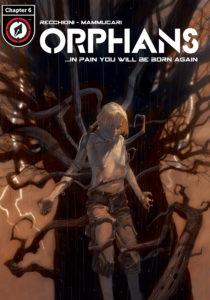 ORPHANS #6 digital single cover