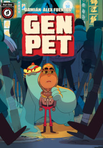 GenPet #1 digital cover