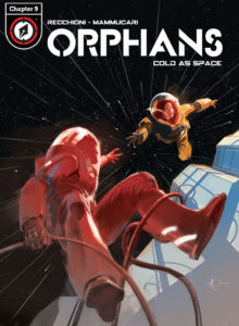 ORPHANS #9 digital single cover