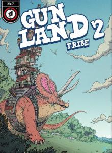 GUNLAND digital cover #7